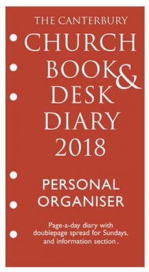 Canterbury Church Book And Desk Diary 2018 PO Edition (Loose-leaf)
