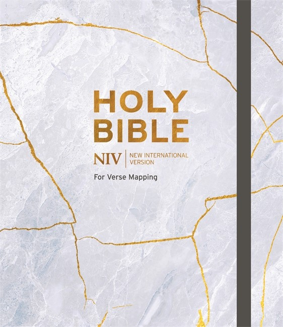 NIV Verse Mapping Bible, Grey (Hard Cover)
