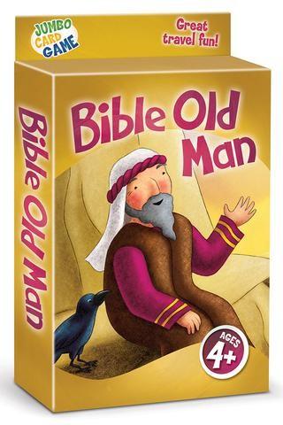 Bible Old Man Jumbo Card Game Repack