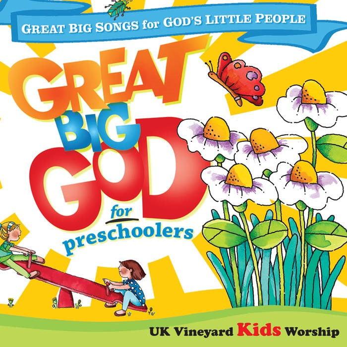 Great Big God For Preschoolers CD (CD- Audio)