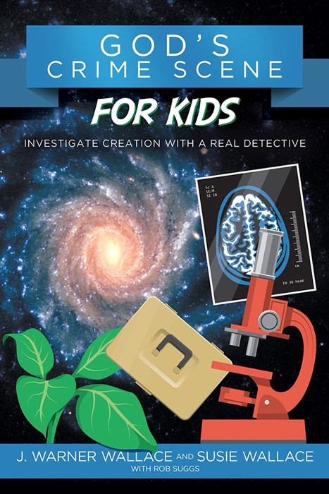 God's Crime Scene For Kids (Paperback)