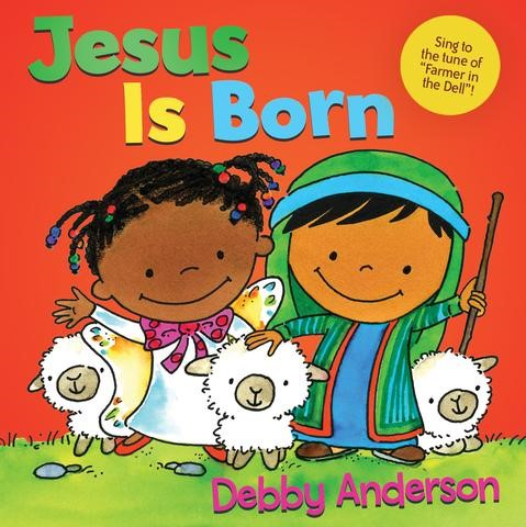 Jesus Is Born (Board Book)