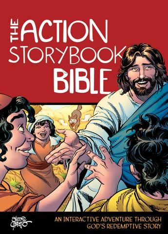 The Action Storybook Bible (Hard Cover)
