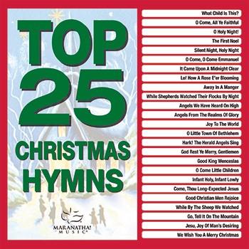 Top 25 Christmas Hymns CD (CD-Audio)