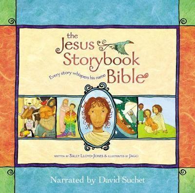 Jesus Storybook Bible Audiobook (CD-Audio)