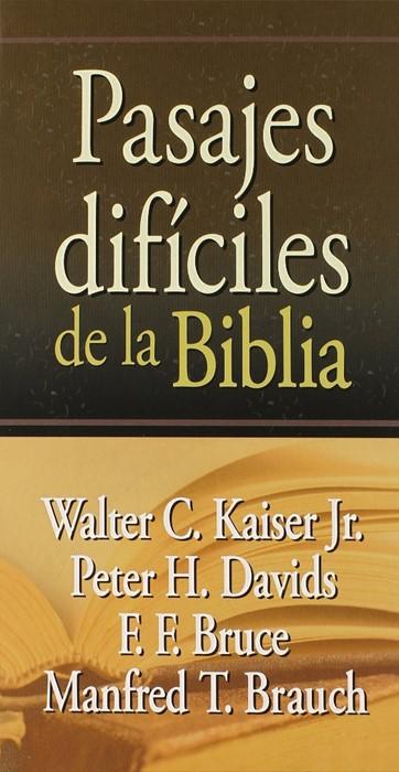 Pasajes Dificiles De La Biblia (Hard Cover)