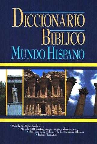 Diccionario Biblico: Mundo Hispano (Hard Cover)