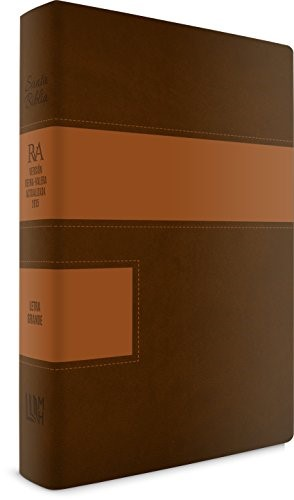RVA 2015 Biblia Letra Grande Similar a Piel Dos Tonos (Imitation Leather)