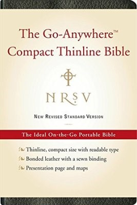 NRSV Go-Anywhere Compact Thnline Bible, Black (Bonded Leather)