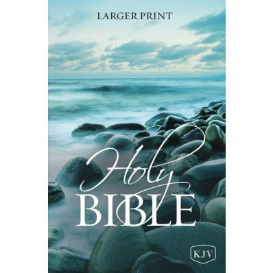 KJV Holy Bible, Larger Print (Paperback)