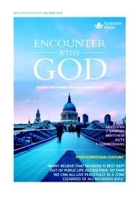Encounter With God Jan-Mar 2018 (Paper Back)