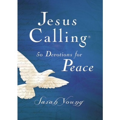 Jesus Calling 50 Devotions For Peace (Hard Cover)