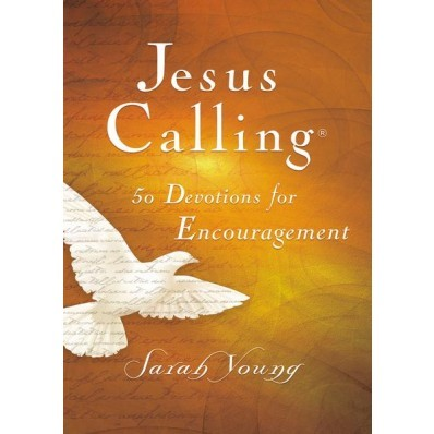 Jesus Calling 50 Devotions For Encouragement (Hard Cover)