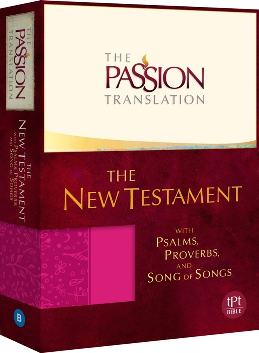 Passion Translation, The: New Testament, Pink (Imitation Leather)