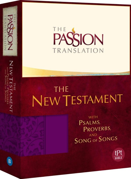 TPT NT With Psalms, Proverbs & Song of Songs, Purple (Imitation Leather)