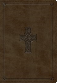 ESV Student Study Bible TruTone, Olive, Celtic Cross Design (Imitation Leather)
