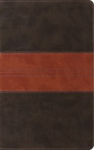 ESV Thinline Reference Bible TruTone, Forest/Tan (Imitation Leather)