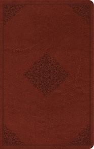 ESV Thinline Reference Bible TruTone, Tan, Ornament Design (Imitation Leather)