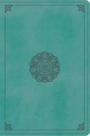 ESV Study Bible, Personal Size TruTone, Turquoise (Imitation Leather)
