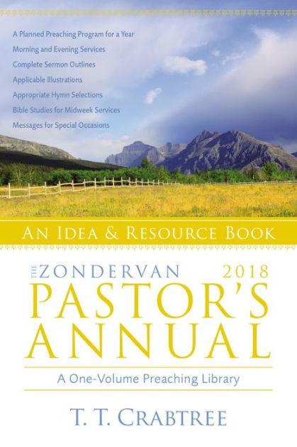 The Zondervan 2018 Pastor's Annual (Paper Back)