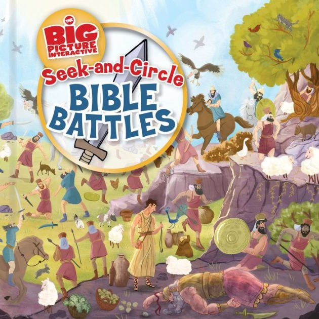 Seek-and-Circle Bible Battles (Board Book)
