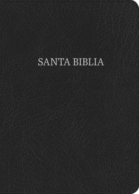 RVR 1960 Biblia Letra Grande Tamaño Manual, negro piel fabri (Imitation Leather)