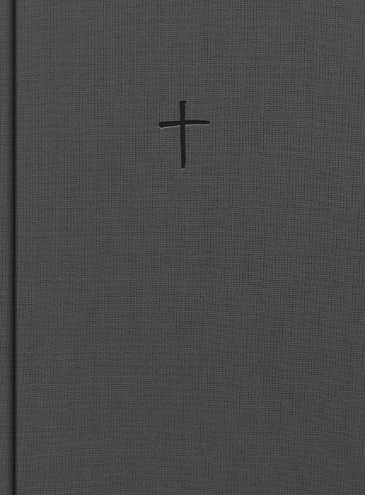 CSB Apologetics Study Bible, Charcoal Cloth Over Board (Hard Cover)