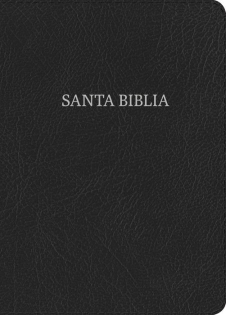 RVR 1960 Biblia Letra Súper Gigante negro, piel fabricada (Bonded Leather)