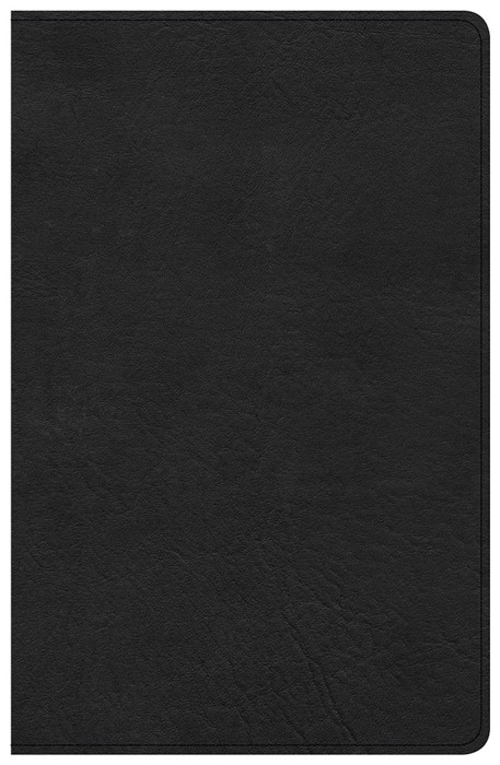 CSB Single-Column Personal Size Bible, Black (Imitation Leather)