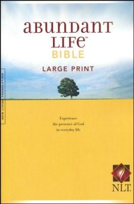 NLT Abundant Life Bible, Large Print (Paperback)