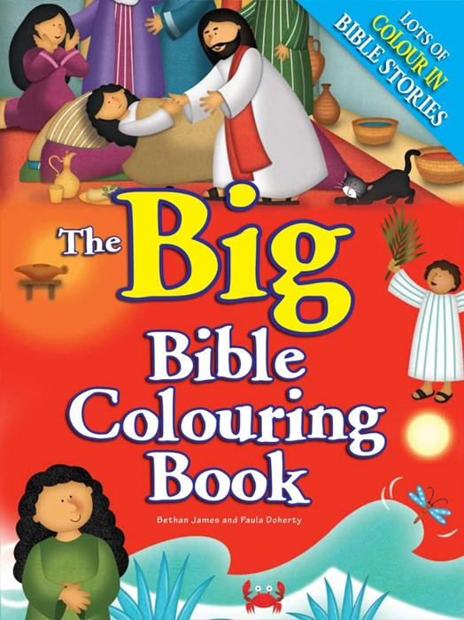 The Big Bible Colouring Book (Paperback)