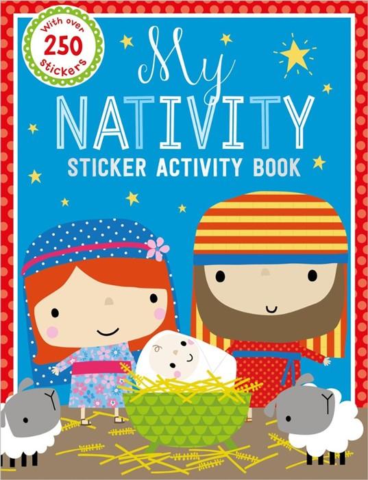 My Nativity Sticker Activity Book (Paperback)