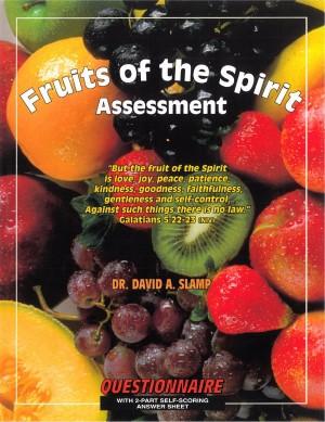 Fruit Of The Spirit Assessment (Paper Back)