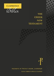 Greek New Testament, Black, French Morocco Leather (Genuine Leather)