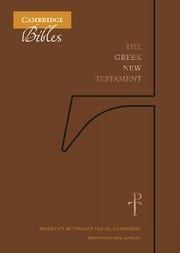 Greek New Testament, Brown Cowhide (Genuine Leather)