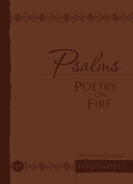 Journal: Psalms: Poetry on Fire (Imitation Leather)