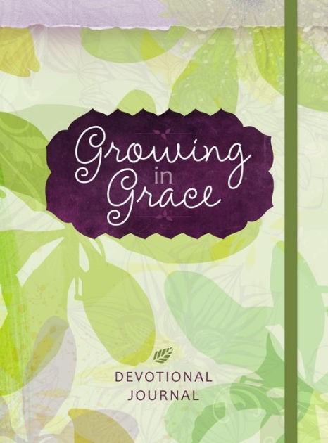 Journal: Growing in Grace (Hard Cover)