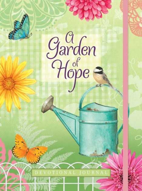 Journal: A Garden of Hope (Hard Cover)