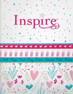 NLT Inspire Bible for Girls (Paperback)