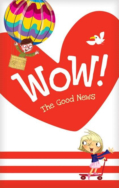Wow! The Good News Tract 20-pack (Pamphlet)