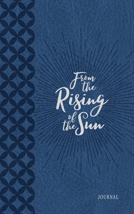 Journal: From the Rising of the Sun, Blue/White