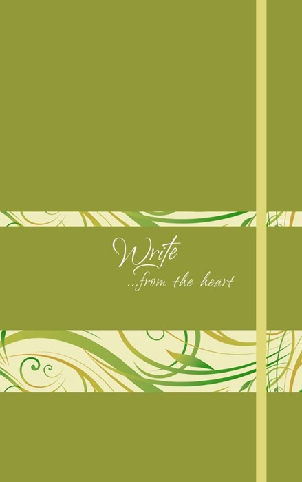 Write Journal: From the Heart (Spring Green)