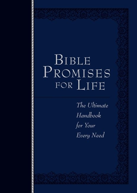 Bible Promises for Life, Navy (Imitation Leather)