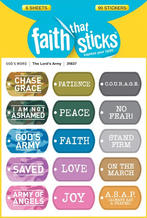 Lord's Army, The - Faith That Sticks Stickers (Stickers)