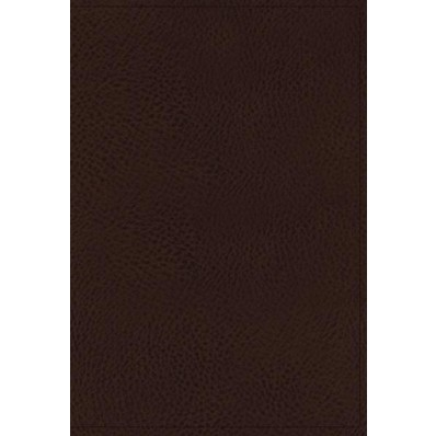 KJV Minister's Bible, Brown, Red Letter Edition (Imitation Leather)