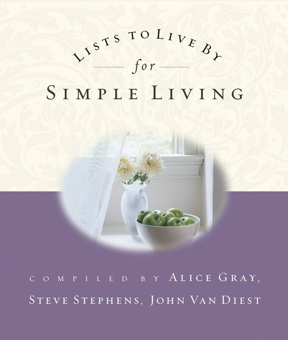 Lists To Live By For Simple Living (Paperback)