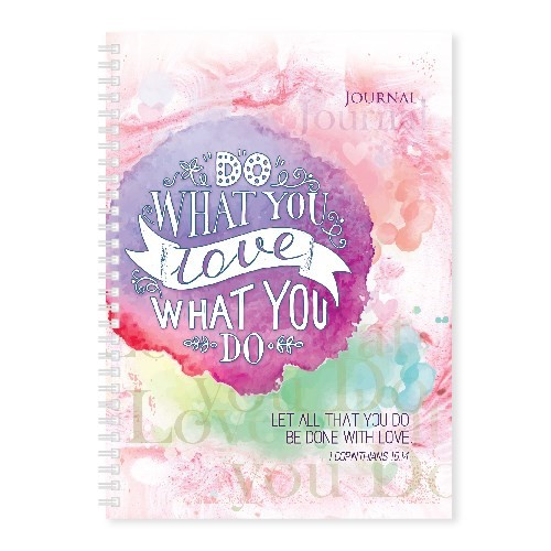 Soft Cover Journal Do What You Love (Notebook / Blank Book)