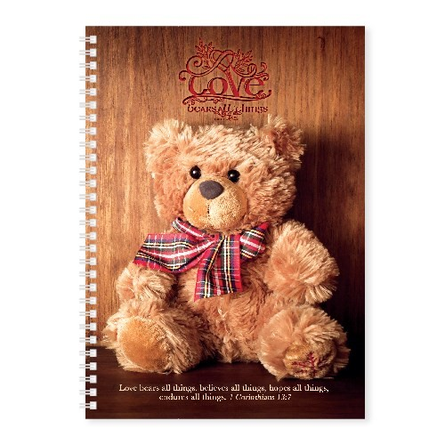 Soft Cover Journal Love Bears All Things (Notebook / Blank Book)