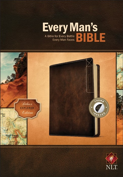NLT Every Man's Bible, Deluxe Explorer Edition (Imitation Leather)