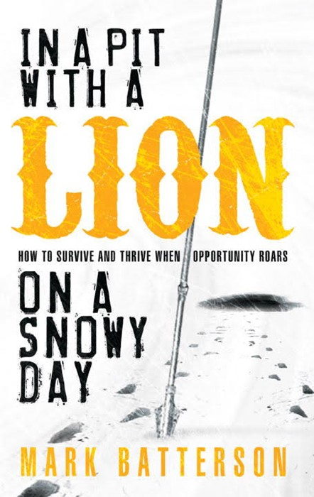 In A Pit With A Lion On A Snowy Day (Paperback)